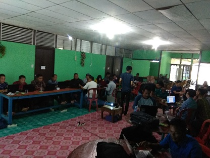 Kaur Umum dan Perencanaan Desa Boyan Tanjung Ikuti Bimbingan Tekhnis dan Penggunaan Website Desa